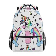 <b>ALAZA School Bag</b> Funny dog pattern Printed <b>Backpack</b> for ...