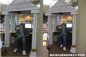 the difference between ideas which we think of everyday and the occasional great idea is that great ideas compel us to tell someone and take action awesome cubicle decorations