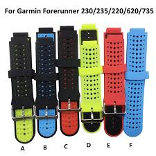 <b>13 colors</b> Wristband Strap For <b>Garmin Forerunner</b> 230 /235 /235Lite ...