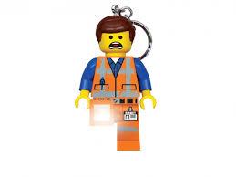 Купить <b>Lego</b>, <b>Брелок-фонарик для ключей</b> Lego Movie 2, Emmet в ...