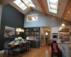 vaulted ceilings vaulted ceiling lighting and dining room tables on pinterest awesome cathedral ceiling lighting 15