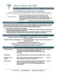 free resume templates for nurses  seangarrette co  resume