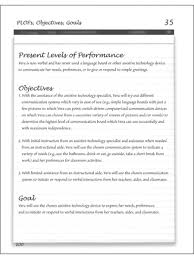 writing measurable iep goals and objectives writing measurable iep goals and objectives sample page