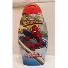 Отзывы о Детский <b>шампунь</b>-кондиционер 2 в 1 <b>Marvel Человек паук</b>