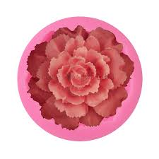 DIY <b>Flower Big Rose</b> Shape <b>Silicone</b> Fondant Soap <b>3D</b> Cake Mold ...