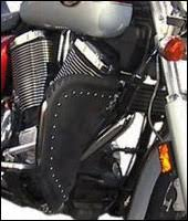 <b>Motorcycle Engine Guard</b> Chaps - <b>Motorcycle</b> Highway Bar Chaps