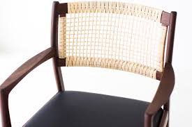 beach oval dining chair woven cane