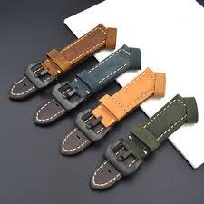Купить 22mm 24mm Fast delivery Calf Genuine Leather Watch ...