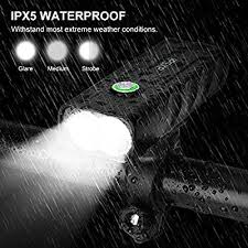 IPSXP <b>Bike Light</b>, USB Rechargeable <b>Bicycle Cycling</b> Headlight ...