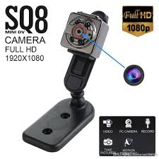 SAFETYNET <b>SQ8</b> Full HD 1080P 720P Small Mini Hidden SPY ...