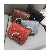<b>Girl</b> Sling <b>Korean</b> Fashion Bag Handbag <b>Shining</b> Bag New Style ...