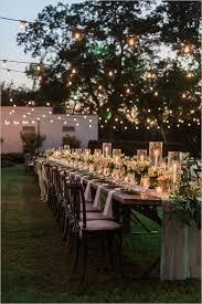 wedding reception lighting weddingchicks backyard wedding lighting