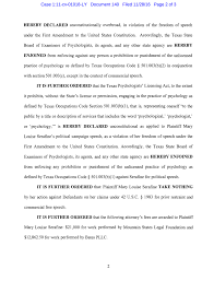 texas psychology licensing deemed unconstitutional modern screen shot 2017 01 16 at 8 06 55 pm