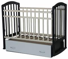 <b>Кроватка Антел Алита</b>-4 (с ящиком) (качалка), на полозьях