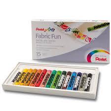 """Цена на Набор <b>пастель для ткани</b> Pentel """"FabricFun Pastels"""" 15 ..."""