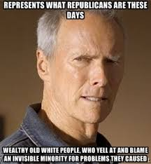 represents what republicans are these days Wealthy old white ... via Relatably.com
