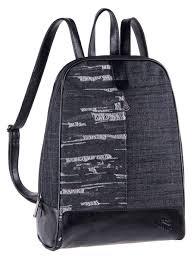 <b>Рюкзак PULSE MODENA BLACK</b> JEANS, 27x38x15см <b>Pulse</b> ...