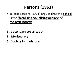 GCE Sociology Revision (AQA)- Unit 2 Education- Functionalist and the… via Relatably.com