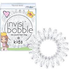 <b>invisibobble Kids</b> Spiral Hair Ring - <b>Princess</b> Sparkle - No-Ouch Coil ...