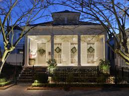 Shotgun House Home Design Ideas  Pictures  Remodel and DecorDesign ideas for a mid sized traditional white one story exterior in New Orleans