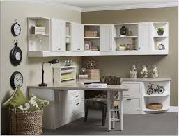 romantic home office design idea with white desk black lamp wall cabinet and traditional office awesome unique green office design