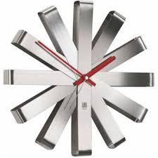 <b>Часы настенные ribbon</b> сталь - Kupiwoll