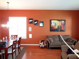 room paint red: great futuristic open living room and dining room paint colors with red with dining room paint