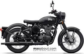 Royal Enfield Stealth <b>Black ABS</b> Price, Specs, Photos, Mileage, Top ...