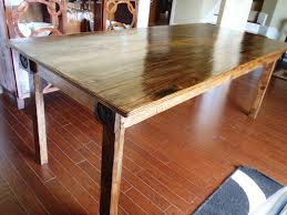 Rustic Wood Dining Room Table Dining Table Diy Chairs L Mid Century Design Ideas Long Wooden