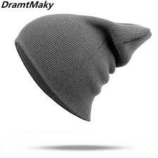 Winter <b>Hats</b> for <b>Woman</b> Men <b>hat</b> New Beanies <b>Knitted Solid</b> Cute <b>Hat</b> ...