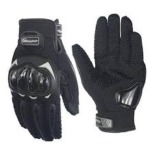 <b>Riding Tribe</b> MCS-17 Motorbike Gloves XL Black
