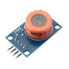 10pcs <b>LM393 MQ3 MQ-3</b> Sensor Ethanol Gas Analog Sensor TTL ...