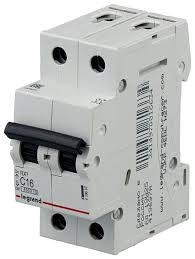 <b>Автоматический выключатель Legrand RX3</b> 2P (C) 4,5kA