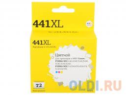 <b>Картридж</b> Т2 <b>IC</b>-<b>CCL441XL</b> CL-441 XL цветной (color) 400 стр ...