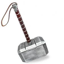 Thor The Dark World <b>1:1 Mjolnir Hammer Handmade</b> The Avengers ...