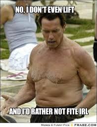 No, I don't even lift... - Meme Generator Captionator via Relatably.com
