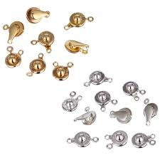 <b>High</b> Quality <b>20pcs</b> lot 2 Color <b>9mm</b> Buttons Letter Metal Snap ...