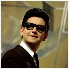 THANK YOUR LUCKY STARS Photo of Roy ORBISON, Roy Orbison posed on set of tv show feb 1965. Photo David Redfern - roy-orbison-photo-david-redfern