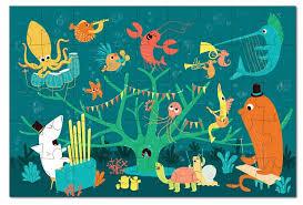 <b>Игрушки из картона</b> пазл Морские животные <b>Krooom</b> - купить ...