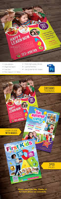 kids teaching outdoor play and kid kids commerce flyers