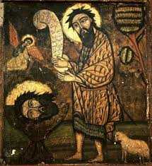 Image result for john the baptist fire
