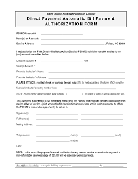single or recurring charge authorization form form templates payment request form automatic payment authorization form template