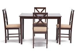 <b>Обеденный комплект эконом</b> Хадсон (стол + 4 стула) №4 - купить ...