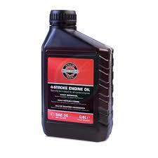 Купить <b>масло</b> 4-х тактное <b>Briggs</b> Stratton 100005E SAE 30 0,6л в ...
