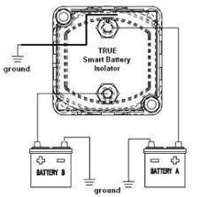 true smart dual battery isolator sbi 12 volt battery isolator installation schematics sbi isolator installation