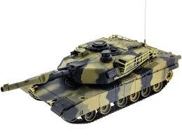 <b>Радиоуправляемый танк Heng Long</b> M1A2 Abrams 1:24