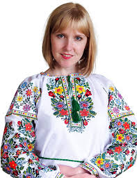 New Embroidered Ukrainian Folk Blouse Natural Cotton Traditional ...