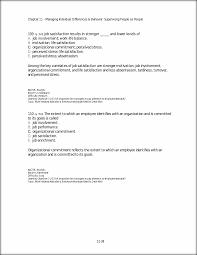 b low job involvement c low organizational commitment d poor job view full document