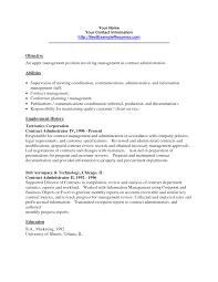 resume sample administrator resume sample