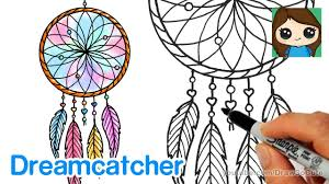 How to Draw a <b>Dream Catcher</b> Easy - YouTube